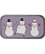 Snow Friends Mini Needle Slide cross stitch accessory Just Nan - $6.50