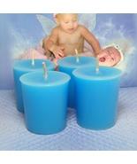 Baby Powder Votives PURE SOY ( Set of 4) - $7.00