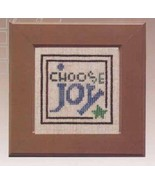 Daily Reminder Choose Joy cross stitch chart The Trilogy - $4.50