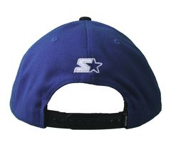 Kr3w Skateboarding Royal Blue Black Mark Starter Snapback Baseball Hat Cap NWT image 4