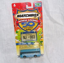 Matchbox Across America NEW JERSEY Diecast Ikarus Coach NEW!  - $11.96