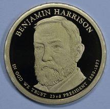 2012 S Benjamin Harrison Presidential Proof dollar 23rd President - $18.50
