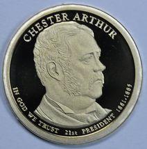 2012 S Chester Arthur Presidential Proof dollar 21st President - $18.50