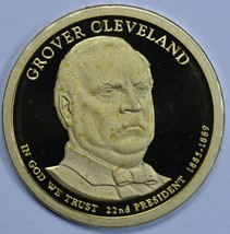 2012 S Grover Cleveland Presidential Proof dollar 22nd President - $19.00