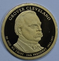 2012 S Grover Cleveland Presidential Proof dollar 24th President - $19.00