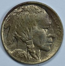1913 D Buffalo uncirculated nickel Type 1 Raised mound MS details - $85.00