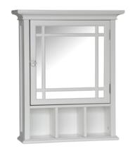 """Elegant Surface Mount Beveled Edge Medicine Cabinet 20"""" x 24.13"""" Finish ... - $139.99"""