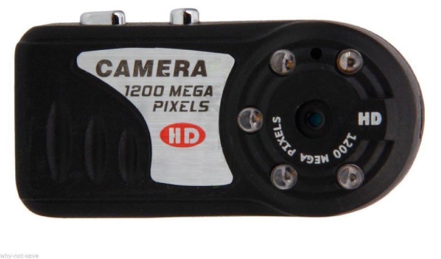 Wireless Spy Nanny Mini Security Hidden Cam Camera With
