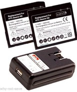2x replacement Battery BD26100 for AT&T HTC Inspire 4G PD98120 Desire HD... - $24.04