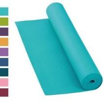 Tapis de yoga Asana, antidérapant, 183 x 60 cm, 4 mm, PVC, qualité pas...  - $29.70