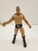 """1999 Jakks Pacific Titan Tron Live The Rock 7"""" Wrestling Action Figure Gold - $15.00"""