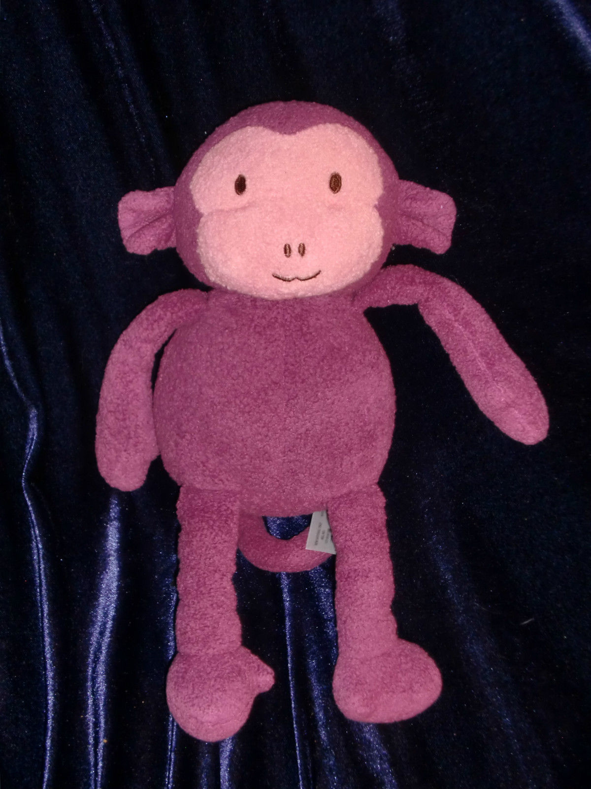 "Primary image for Animal Adventure Purple Pink Monkey Plush Stuffed Animal Target Toy 11"" 2012"