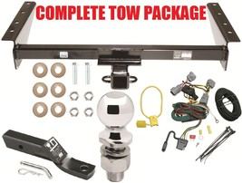 Complete Trailer Receiver Tow Hitch Package ~ No Drill ~ Fast Shipp ~ Class 3 - $206.90