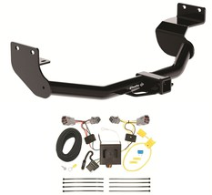 TRAILER HITCH W/ WIRING KIT FOR 2013 HYUNDAI SANTA FE SPORT CLASS III 2 ... - $218.14