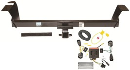 2011 2014 Chrysler Town & Country Trailer Hitch W/ Wiring Kit ~ Fast Shipping - $196.34