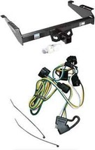 Trailer Receiver Tow Hitch & Wiring Kit ~ Fast Shipping - $121.19