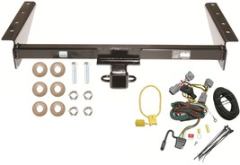 Trailer Tow Hitch W/ Quick Connect Wiring Kit ~ Fast Shipping ~ No Drill ~ New - $148.27