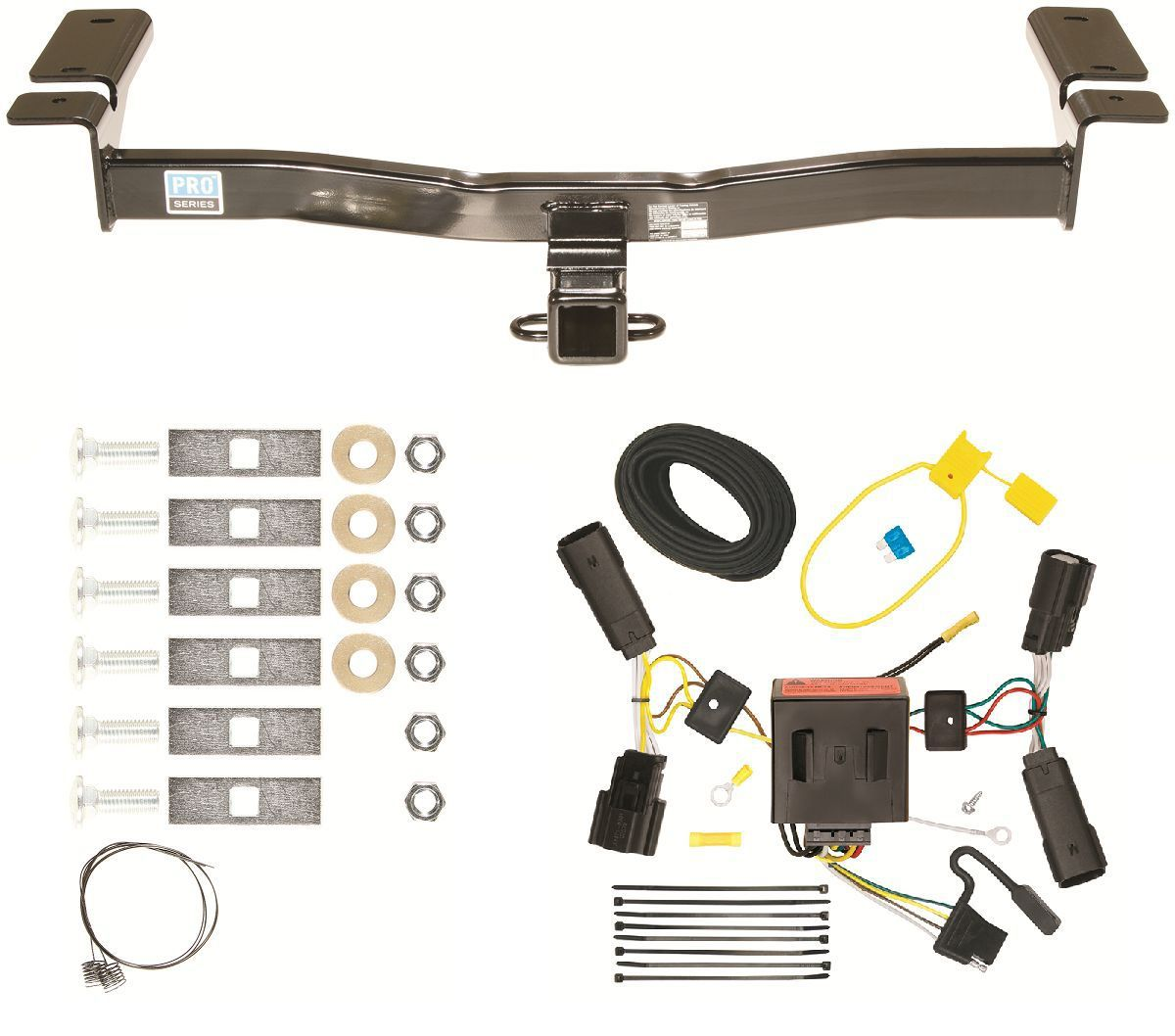 2011 Ford Edge Trailer Hitch  U0026 Wiring Harness Combo Kit