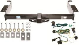 2003 2012 Gmc Savana Van Trailer Hitch & Wiring Kit ~ No Drill ~ Fast Shipping - $133.28