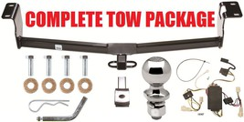2003 Toyota Corolla Trailer Hitch + Wiring Harness + Draw Bar + 2 Inch Ball New - $136.12