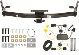 2010 12 Gmc Terrain Trailer Hitch W/ Wiring Kit ~ Clss 3 ~ No Drill ~ Ez Install - $130.51