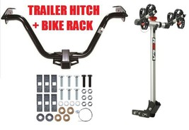 2004   2008 Chrysler Pacifica Trailer Hitch & Rola 2 Bike Carrier Rack Combo - $344.80