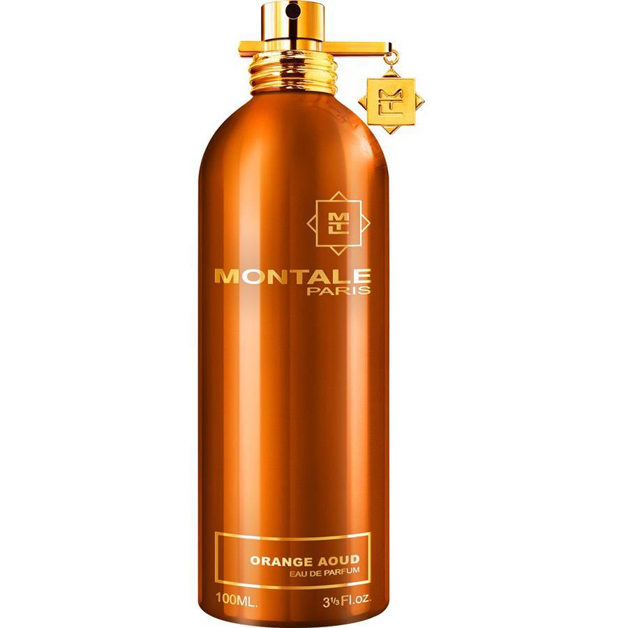 ORANGE AOUD by MONTALE 5ml Travel Spray EDP Oud Bergamote Leather Perfume