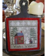 Winter Wonder Seasons of Chessie series cross stitch kit Chessie & Me   - $10.80