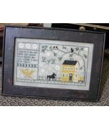 Gettysburg 1862 Sampler cross stitch chart Chessie & Me   - $10.80