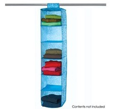 Closet Storage and Organizer with Six Shelves - $14.85
