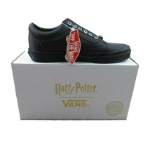 Vans X Harry Potter Deathly Hallows Old Skool Black Mens Size 13 NEW - £68.22 GBP