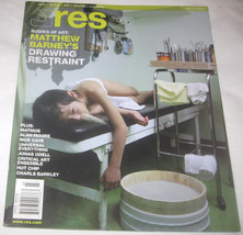 RES Film, Music, Art, Design & Culture Magazine Vol. 9 NO. 3 Bodies of Art - $11.94