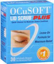 Ocusoft PLUS lid scrub pre moistened pads 60ct 2 pk  ($2.00 rebate) - $29.43
