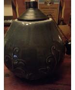 Last one....Large Glazed Ceramic Firepot, Torch,  Yard decor, Fire pot, ... - $50.00