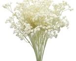 "10pcs Babies Breath Flowers 23.6"" Artificial Gypsophila Bouquets Real Touch Flow"