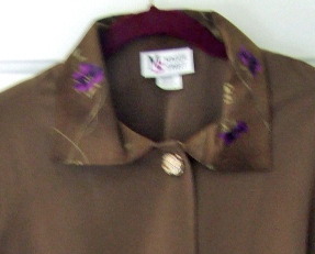 Maggie Sweet Ladies Swing Jacket Olive 1X Petite