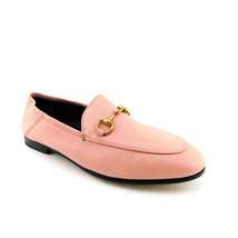 GUCCI Size 7 BRIXTON Pink Convertable Horse Bit Loafers Flats Shoes 37 Eur - $574.00