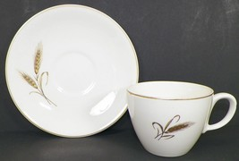 SALEM ROYAL JOCI WHEAT PATTERN TEA OR COFFEE CUP AND SAUCER SET -K10 - $4.99