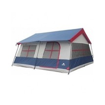 Tent Camping Cabin Family Vacation Outdoor Hiking Canopy Shelter 3 Room Home New - $299.84