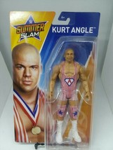 Kurt Angle WWE Mattel Basic SummerSlam Brand New Action Figure Toy - $19.99