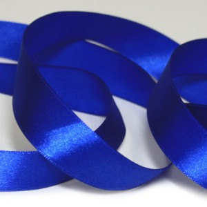 "Primary image for 5 Yards Blue Single Faced Satin Ribbon7/8""22mm/wedding supplies/Bouquet Ribbon"