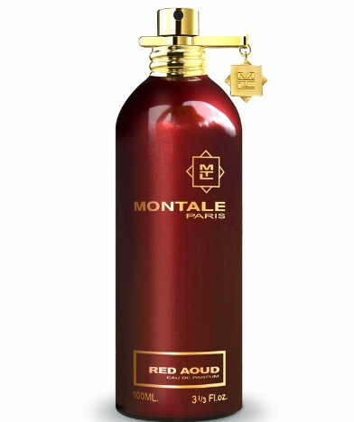 RED AOUD by MONTALE 5ml Travel Spray Pepper Saffron Orris Cumin Perfume