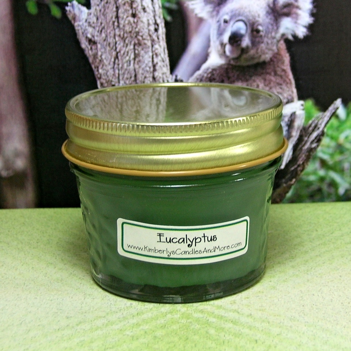 Eucalyptus PURE SOY  4 oz Jelly Jar Candle
