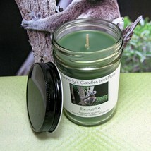 Eucalyptus PURE SOY Jelly Jar Candle - $8.00