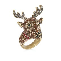 Heidi Daus Rudy Reindeer Crystal Ring different sizes - $69.95