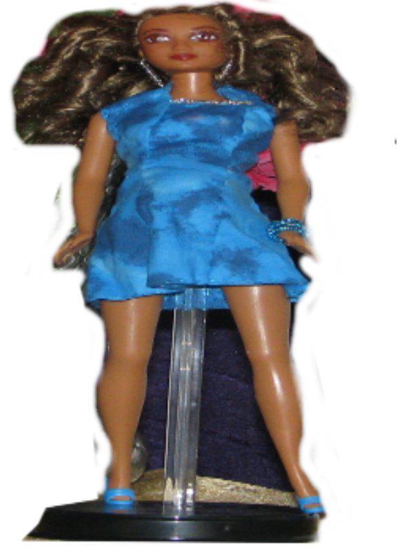 Pregnant Fashion Doll Dariya OOAK Barbie