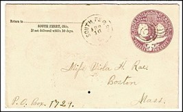 1894 South Perry OH Discontinued/Defunct (DPO) Post Office Postal Cover - $9.95