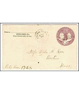 1894 South Perry OH Discontinued/Defunct (DPO) Post Office Postal Cover - €9,21 EUR