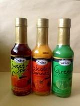 Grace Variété Chaud Sauce 3 Paquet - $15.98