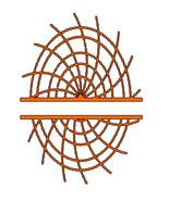 Spiderweb Split Monogram-Digital ClipArt-SVG-Art Clip-Halloween-Party-Gi... - $10.00